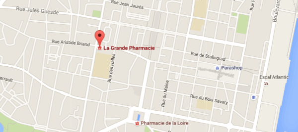 carte-acces-Grande Pharmacie